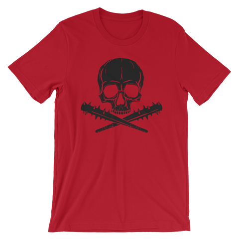 Jolly Roger | Black on Red