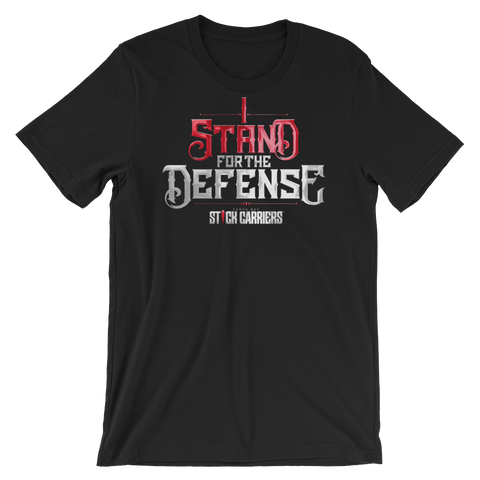 I Stand for the Defense | Black