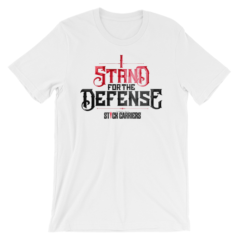 I Stand for the Defense | White