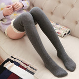 Warm Lace Thigh High Stockings