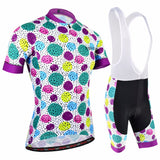Women's Cycling V-collar Jersey