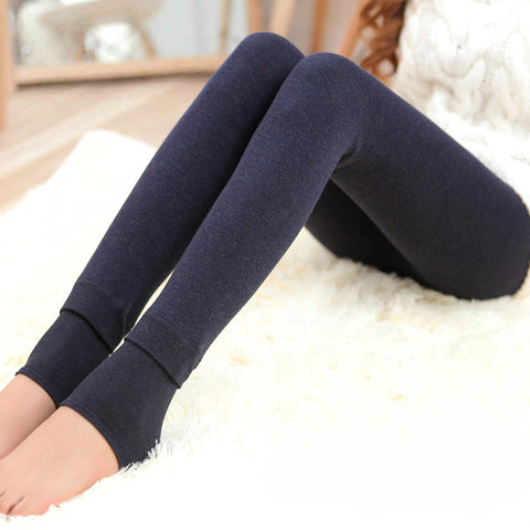 Maternity Brushed winter Legging plus velvet thickening