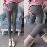 Maternity Cotton Adjustable waist Legging