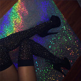 Sexy Over the knee Sequins Stockings