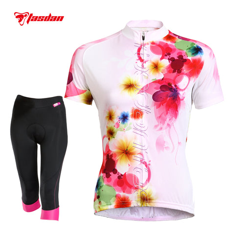 Women's Cycling Gel Pad Jersey Sets