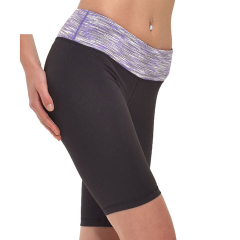 Women Super Stretch Shapers Yoga Shorts Fitness Slimming