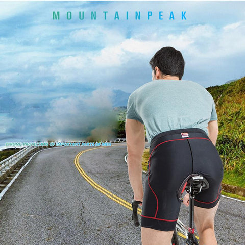 Men's Cycling Shorts Padded Breathable Quick Dry