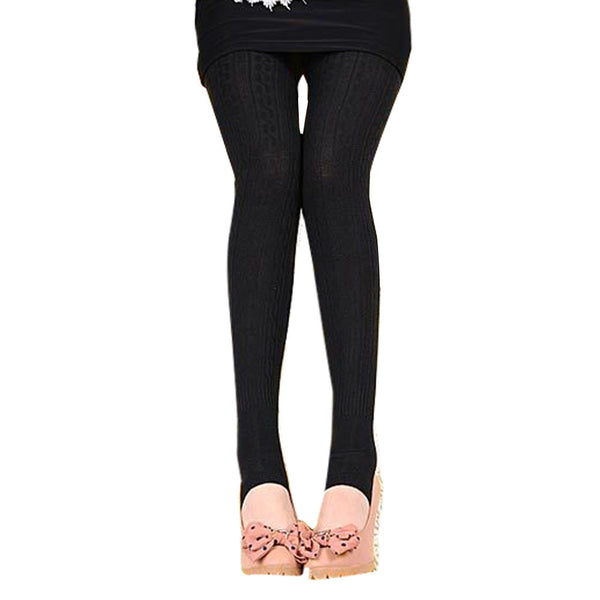 Women's Winter Warm Comfortable Cotton Stirrup Leggings