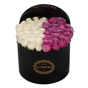 Mixed Roses in Large Box