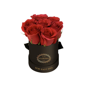 Red Roses in Mini Box