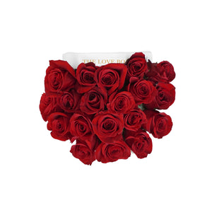 Red Roses in Medium Box