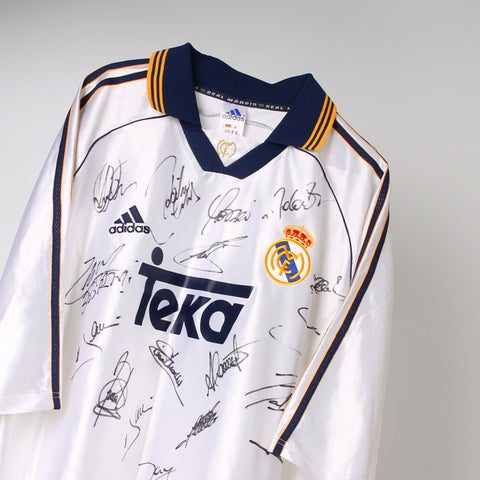 Signed Real Madrid Football Top
