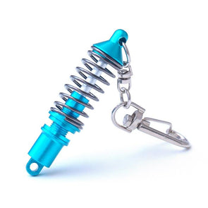 Blue Coilover Keychain