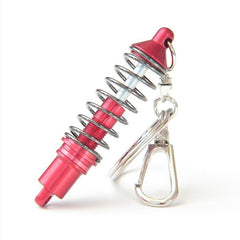 Red Coilover Keychain