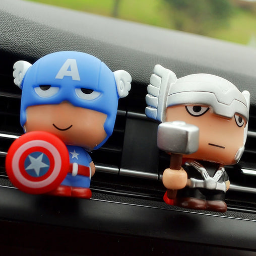 Cute Marvel Heroes Air Freshner