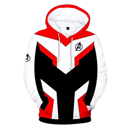 Avengers Endgame Quantum Realm - Hoodie Red