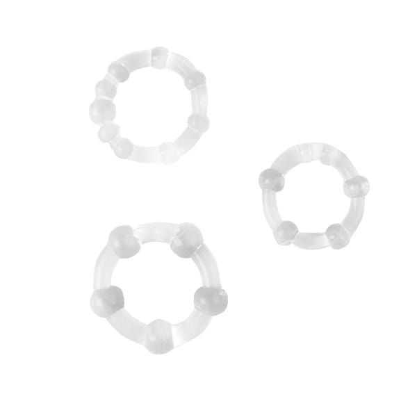 3pcs Silicone Cock Rings Delay Ejaculation Penis Rings Adult Toys