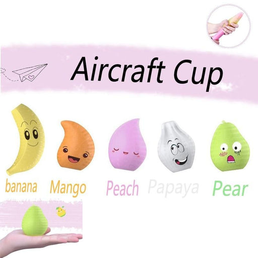 Male masturbation egg Portable G point fruit fairy plane cup