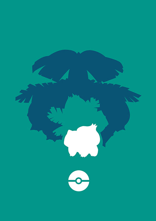 "Poster ""Bulbasaur"" (Digital)"