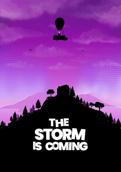 "Poster ""The Storm is Coming"" (Digital)"