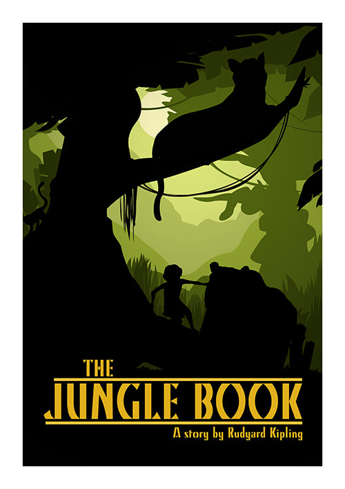 "Poster ""Jungle Book"" (Digital) - 70% OFF"