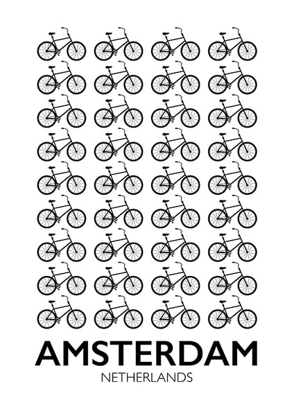 "Poster ""Amsterdam"" (Digital) - 70% OFF"