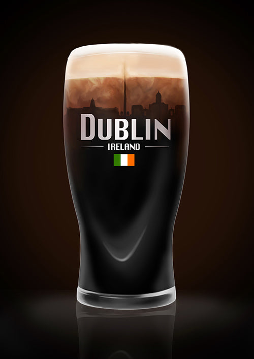 "Poster ""Dublin"" (Digital) - 70% OFF"