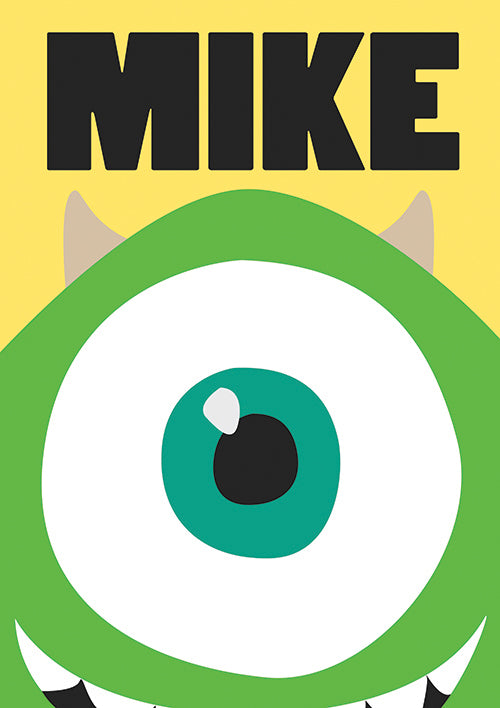 "Poster ""Mike"" (Digital) - 70% OFF"
