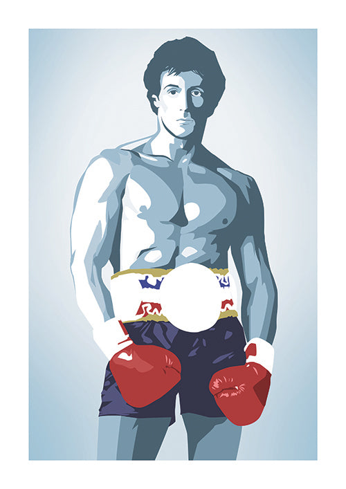 "Poster ""Rocky"" (Digital) - 70% OFF"