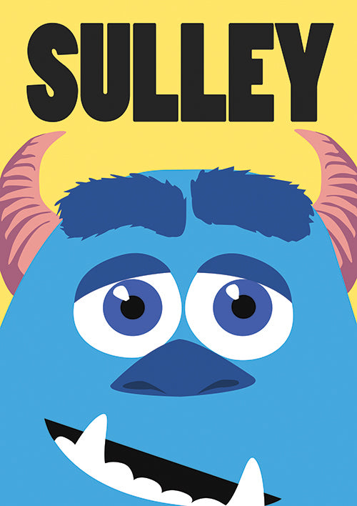 "Poster ""Sulley"" (Digital) - 70% OFF"