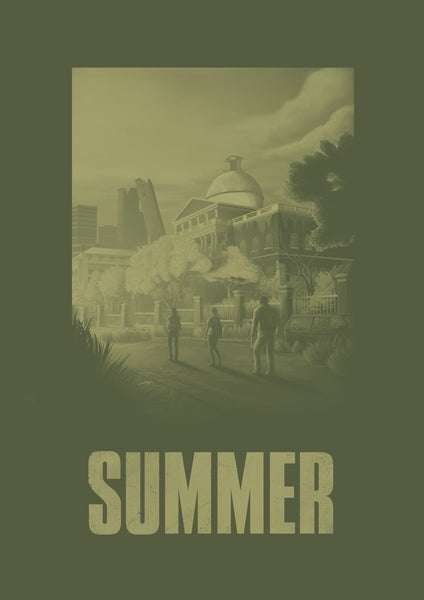 "[ESPECIAL: The Last of Us] Poster ""TLOU: Summer"" (Digital) - 70% OFF"