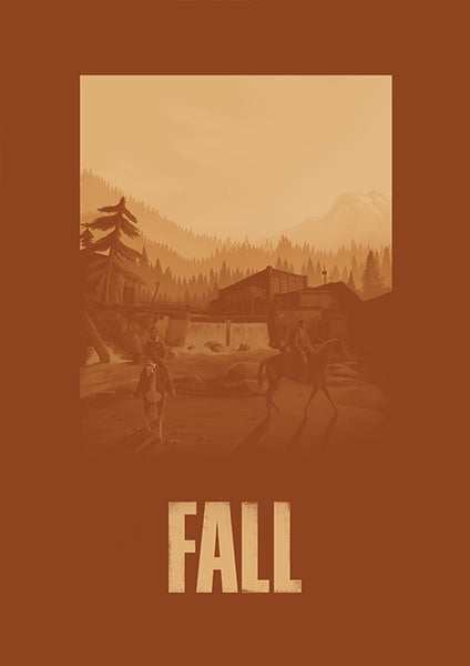 "[ESPECIAL: The Last of Us] Poster ""TLOU: Fall"" (Digital) - 70% OFF"