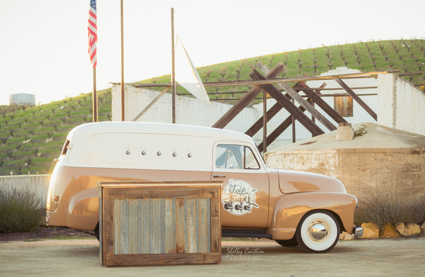 Tod Tompkins historic story of his 1953 chevrolet family panel truck is a touching revival of this classic beauty to its beer truck glory! This mobile bar shall be making th enews locally in fresno, clovis and bakersfield