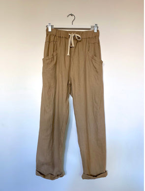 Luxe Linen Pants Little Lies