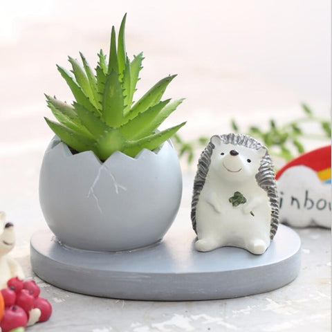Cute Desk Planter - desk mess