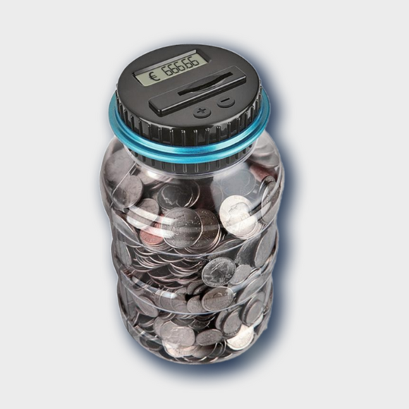 Digital Counting Money Box - Desk Mess