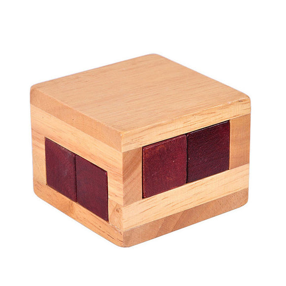 Wooden Magic Puzzle Box - Desk Mess