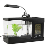 Desktop Mini Fish Tank - Desk Mess