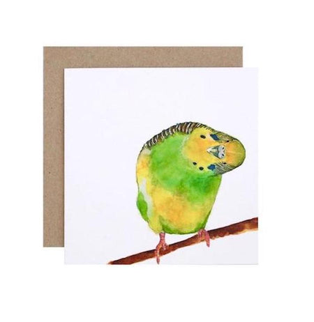 Betty the Budgie Card