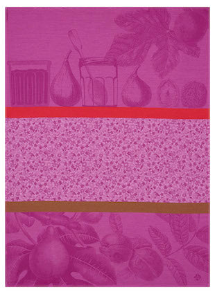 Tea Towel Confiture Purple 60x80 100% Cotton