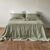 Montauk Linen Flat Sheet Queen