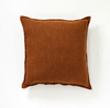 Christophe Linen Cushion - Cinnamon 60x60cm