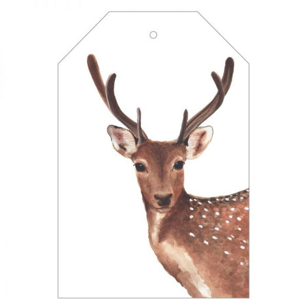 Dotty the Deer Gift Tag