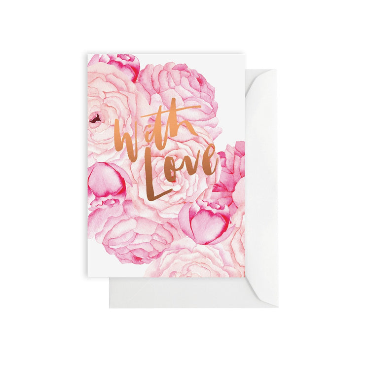 Flowerbomb with Love Card