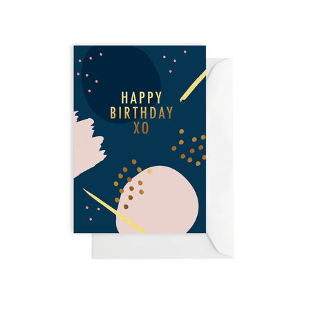 Happy Birthday Midnight Card