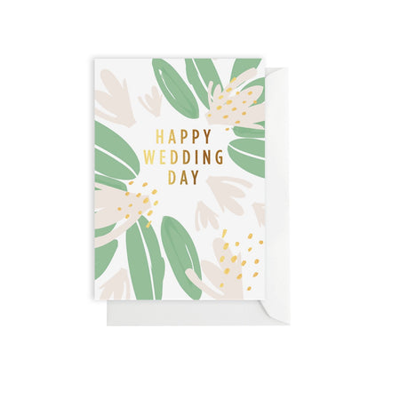 Wedding Flower Card