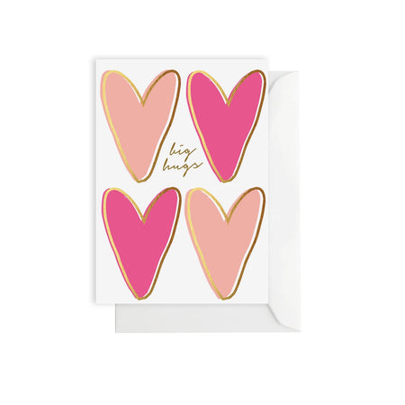 Big Hugs Hearts Card