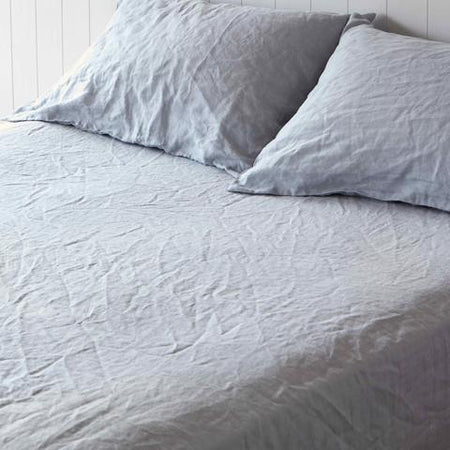 Montauk Linen Fitted Sheet Queen
