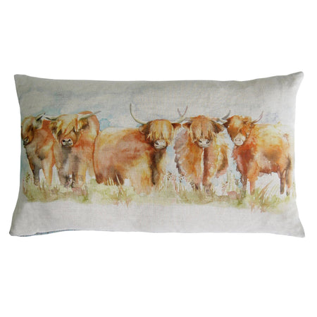 Highland Cattle Cushion 35x60cm