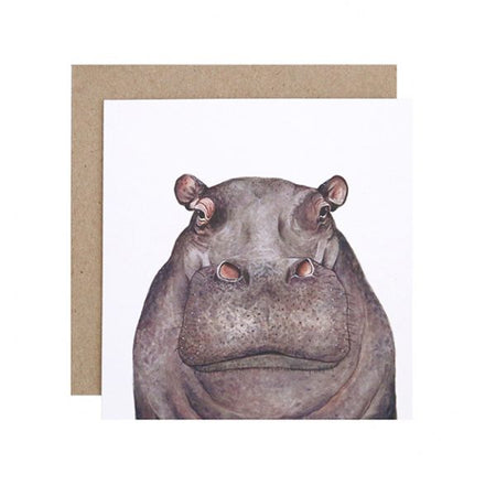 Hugo the Hippo Card
